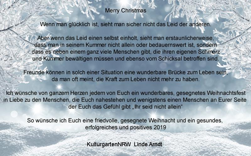 Weihnachten 2019 Nrw.Frohe Weihnachten Und Alles Gute Für 2019 Kulturgartennrw E V